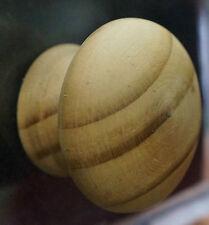 Cupboard Knob Mushroom Shape 45mm Unlacquered Pine Timber 12827