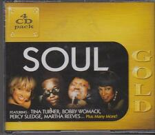 SOUL - GOLD - VARIOUS ARTISTS on 4 CD'S -  NEW -