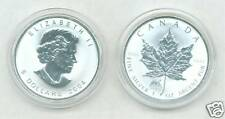 2004 Uncirculated MONKEY PRIVY MARK SILVER MAPLE LEAF - 1 Oz Coin With COA
