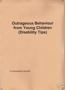 Tips for behaviour problems disability autism A4 copy