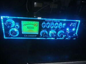CONNEX CX-3400HP 10 METER RADIO,HIGH RECEIVE KIT,MULTI COLORED FACE,POWERFUL!!!
