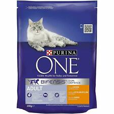 3 x packs Purina One Adult Chicken & Whole Grain Cat Dry Food