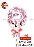 1pc x Confetti Cake Topper Balloon Mini Rose Gold Decor