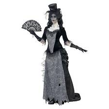 Ghost Town Black Widow Size Small 8 - 10 Ladies Halloween Costume