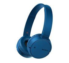 Sony MDR-ZX220BT, On-Ear Kopfhörer (blau, Bluetooth, NFC)