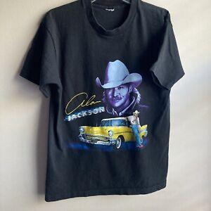Alan Jackson Vintage T-Shirt 1996 Yellow Cadillac
