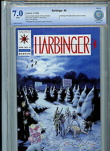 Harbinger Issue #4 Valiant Comics CBCS Graded 7.0 Certified With Coupon 1992 B3