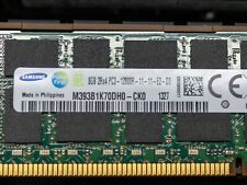 Samsung 8Gb (1X 8Gb) 2Rx4 Pc3 12800R 11-11-E2-D3 Registered Server Ram