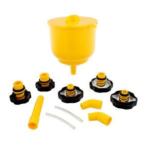 ABN | Coolant Funnel Kit Radiator Coolant Flush Kit Radiator Funnel Fill Kit