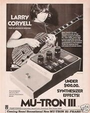 1975 Mu-tron III PS-1 Larry Coryell Eleventh House Ad