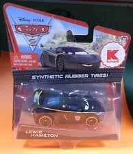 Disney Pixar CARS 2 Kmart Exclusive Lewis Hamilton Synthetic Rubber Tires New