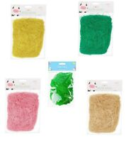 32g Easter grass Decoration for  Arts & Crafts Fake Grass Coloured Flax Material