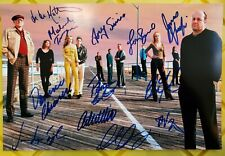The Sopranos Cast Signed Autographed Photograph James Gandolfini Lorraine Bracco