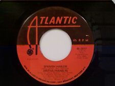 "ARETHA FRANKLIN ""SPANISH HARLEM / LEAN ON ME"" 45"