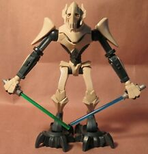 GENERAL GRIEVOUS 2009 LFL Star Wars Clone Wars electronic action figure Works