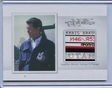 2016 James Bond Archives Spectre Edition Prop Relic card MR6 ID Badge 006/125