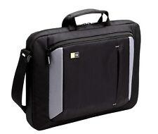 Briefcase -Bag Slim Messenger Men Carrying Handbag Genuine Case Modern w/ Strap