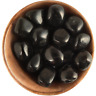 1 inch BLACK SHUNGITE natural healing crystal stone – Ethically Sourced, Russia