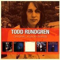 """TODD RUNDGREN """"ORIGINAL ALBUM SERIES"""" 5 CD NEU"""