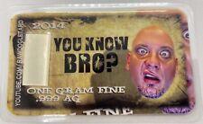 "Rawdogletard Silver Card ""You know BRO?"""