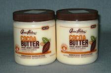 2 x QUEEN HELENE - Cocoa Butter - Face & Body Cream für trockene Haut - 850 g