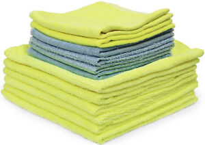 Detailer's Preference Microfiber Bag of Rags Cleaning Towels 12-Pack
