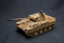 built German WW2 tank panzer V Panther 3.SS Totenkopf  Poland 1944  1/35