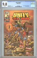 Unity 2000 #1 CGC 9.8 White Pages (1999) 2085840002