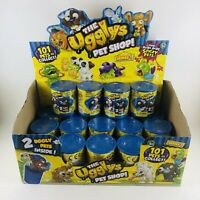 The Ugglys Pet Shop Series 1 Blind Cans Lot Of 19 With Display Box