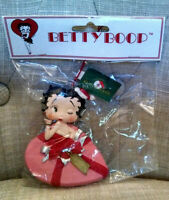 Kurt S. Adler Santa's World BETTY BOOP Present Holiday Christmas Ornament 1998