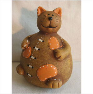 LATEX MOULD MOULDS MOLD.         SITTING CHUBBY CAT