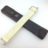 K & E Keuffel & Esser Slide Rule 4081-3 with Case 775856