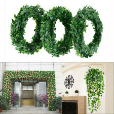 NEW 7.5m Artificial Greenery Vine Fake Ivy Leaves Garland Hanging Wedding Party