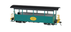 Bachmann 26005 On30 Excursion Car H. Lee Riley Green with Black Roof
