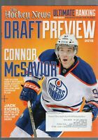 2015 THE HOCKEY NEWS DRAFT PREVIEW MAGAZINE-CONNOR McDAVID EDMONTON OILERS COVER