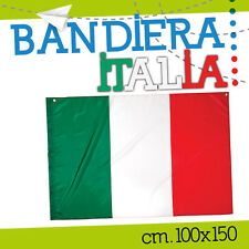 BANDIERA ITALIA 100*150 italiana tricolore nazionale stadio tifo VLRPE900IT-XL