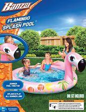 New ListingNew! Banzai Flamingo Splash Pool Inflatable Fun!