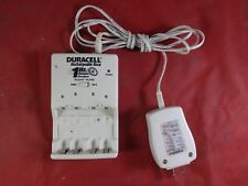 Duracell Accu 4x AA/AAA Rechargeable 1 Hour NiMH NiCd Battery Charger CEF80NC