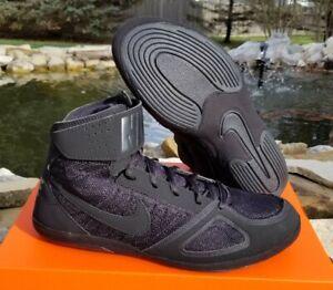 RARE NEW Black Nike Takedown IV Wrestling Shoes Various Sizes