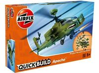 AIRFIX® QUICK-BUILD APACHE HELICOPTER MODEL AIRCRAFT KIT HELICOPTER SET J6004