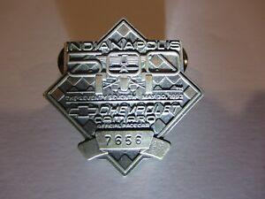 1993 INDIANAPOLIS 500 SILVER BADGE EMERSON FITTIPALDI CHEVY CAMARO INDY CAR