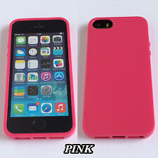 Candy Pastel Colour Soft Back Case Cover For iPhones & Samsung Galaxy