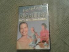 Diabettes facts nutrition and cooking dvd new and sealed Freepost