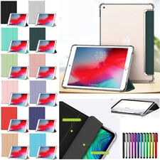 "For iPad 9.7 10.2"" 7th 6th 5th Gen 2019 Pro 2nd Gen Air Leather Smart Cover Case"