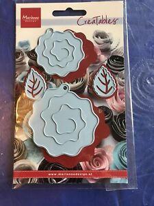 Marianne Design Creatables Paper Flower metal die set for papercrafting