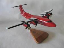 De Havilland DHC-7 Dash-7 Air Greenland Desktop Wood Model