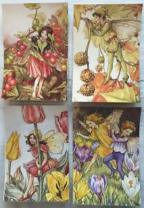 Flower Fairies Postcards by Cicely Mary Barker x7