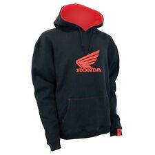 Genuine Honda Mens Black / Red Wing Hoodie Hoody Small RRP $89.95