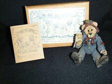 Boyds Shoe Box Bear Elias Grizberg #3206