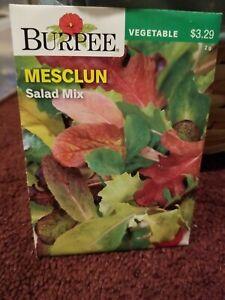 Mesclun Salad Mix Vegetable Seeds Burpee